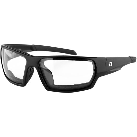 Bobster Tread Sunglasses - Matte Black - Clear