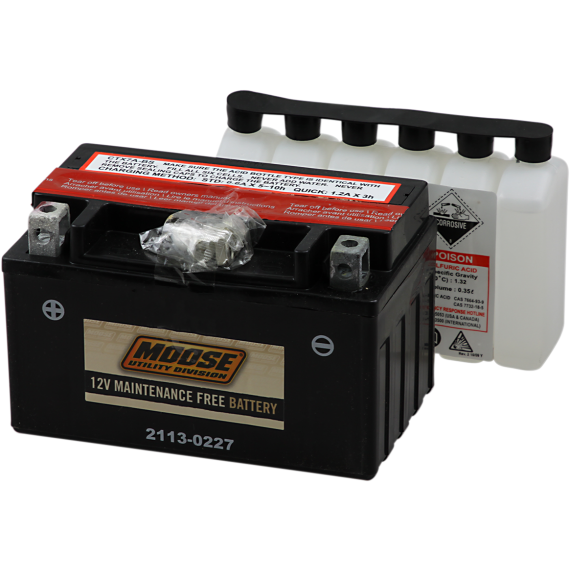 Moose Racing AGM Battery - YTX7A-BS