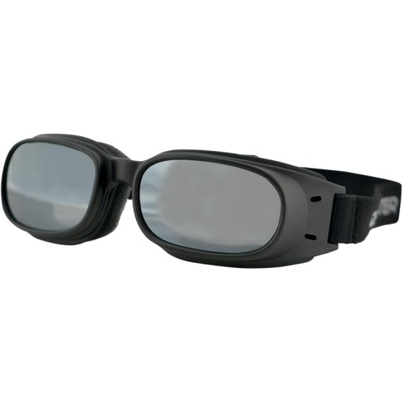 Bobster Piston Goggles - Matte Black - Smoke Mirror