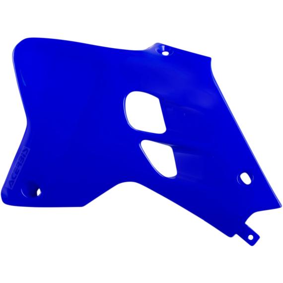 Acerbis Radiator Shrouds - 98-00 YZ 80 - Blue