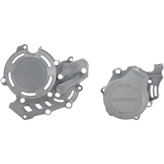Acerbis X-Power Cover - Silver - KTM/Husqvarna