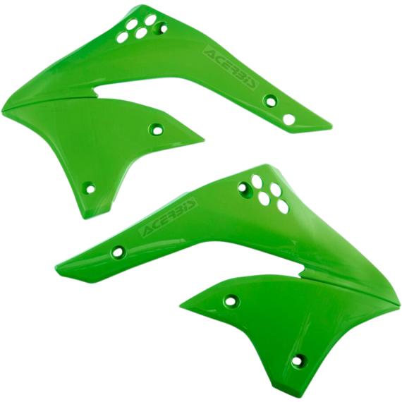 Acerbis Radiator Shrouds - KX 450 F - Green