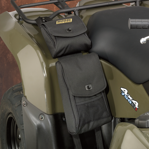 Moose Racing Big Horn Fender Bag - Black