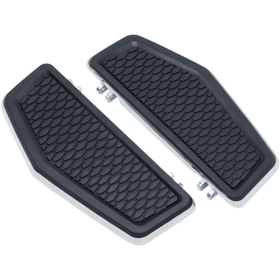 Kuryakyn Hex Driver Floorboards - Chrome
