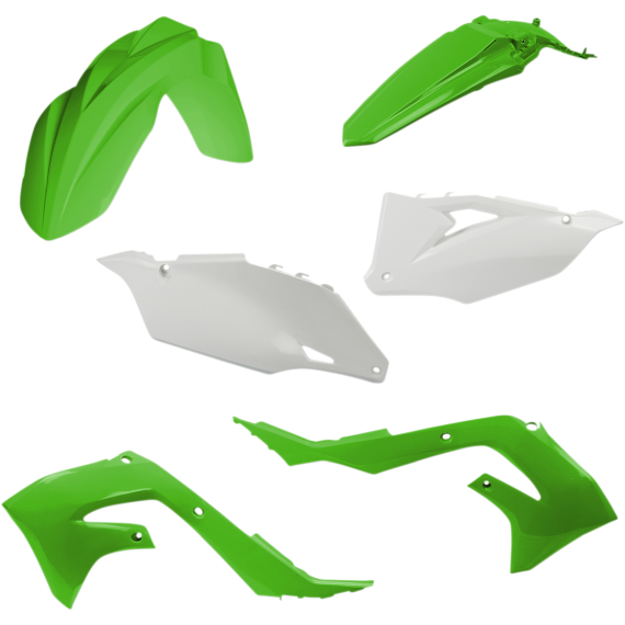 Acerbis Plastic Body Kit - OE '20 Green/White - '19-'20 KX450