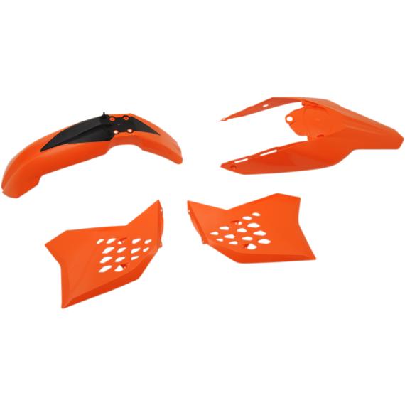 Acerbis Plastic Body Kit - Orange/Black