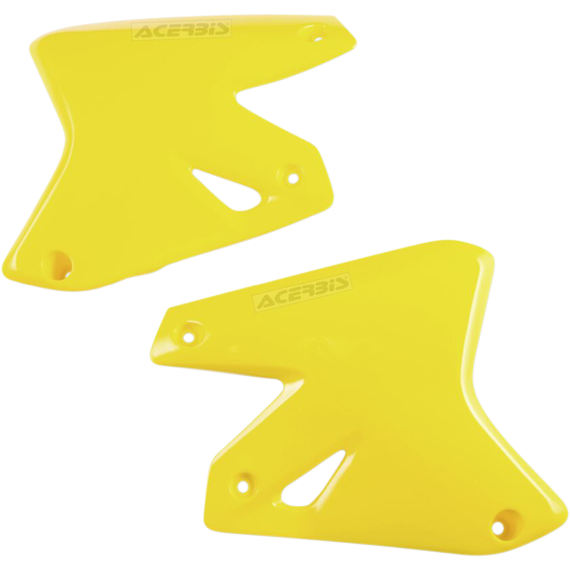 Acerbis Radiator Shrouds - DRZ '01 - Yellow