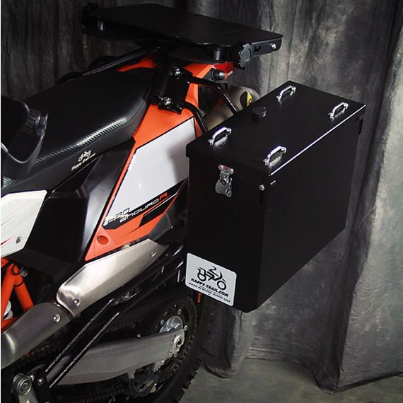 Happy Trails Products Aluminum Pannier Kit OWYHEE  KTM 690 Enduro R 2008-2016