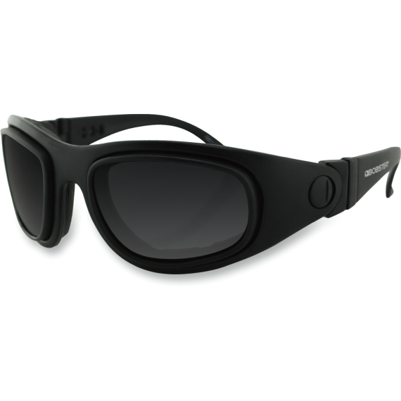 Bobster Sport & Street 2 Convertible Sunglasses - Matte Black - Interchangeable Lens