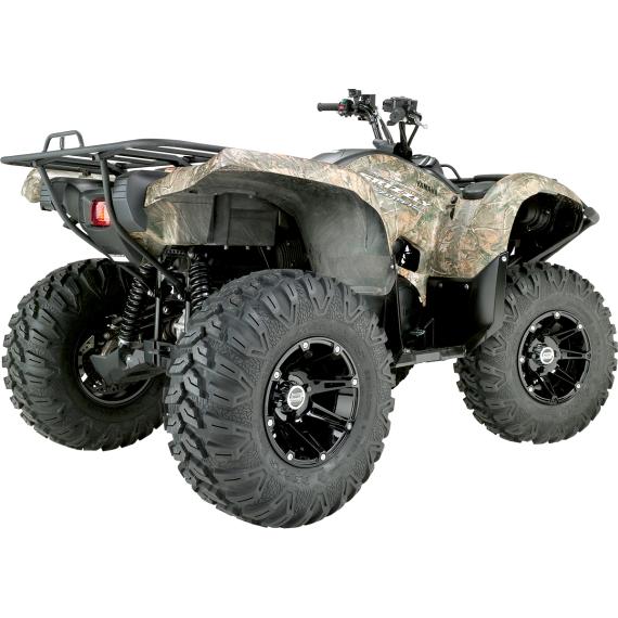 Moose Racing Wheel - 387B - 12X7 - 4/110 - 4+3