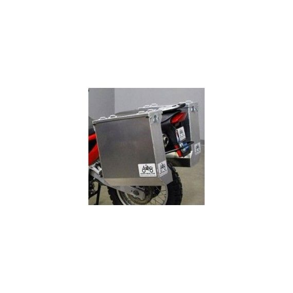 Happy Trails Products Aluminum Pannier Kit DENALI - HONDA CRF1000L