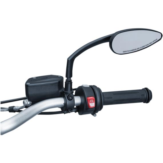 Kuryakyn Mirror Adapters - BMW - Black