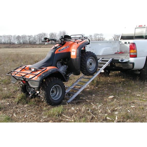 "Moose Racing Adjustable Tri-Fold Ramp - 42""-52"" x 76"""