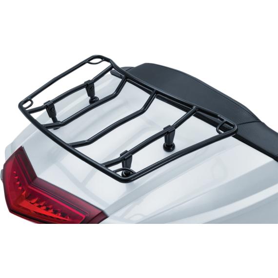 Kuryakyn Adjustable Luggage Rack - Black