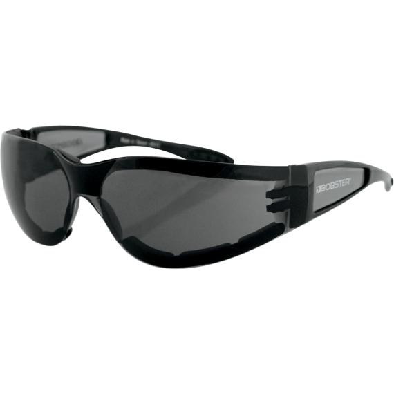 Bobster Shield II Sunglasses - Gloss Black - Smoke