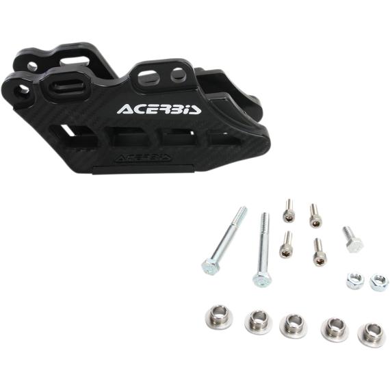 Acerbis Complete Chain Guide Block - Suzuki - Black