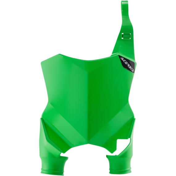 Acerbis Raptor Number Plate - Green - Kawasaki