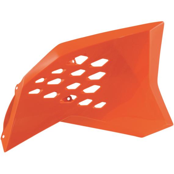 Acerbis Radiator Shrouds - KTM SX - Orange