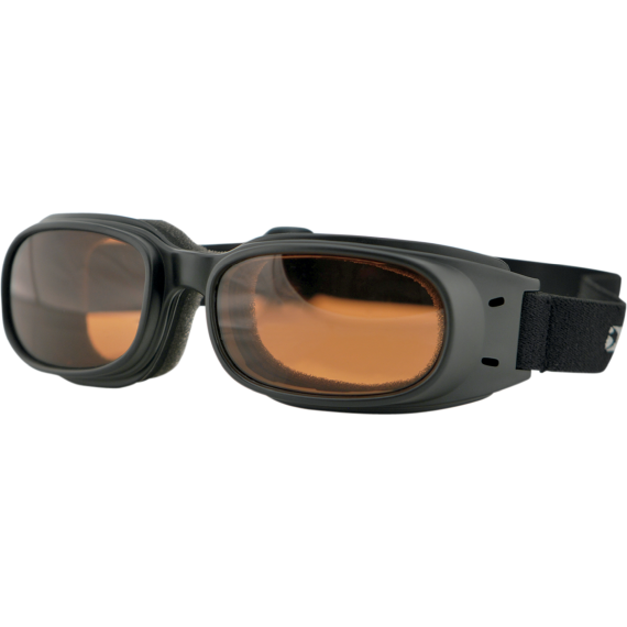 Bobster Piston Goggles - Matte Black - Amber