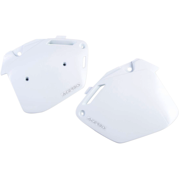 Acerbis Side Panels - CR500 91-00 - White