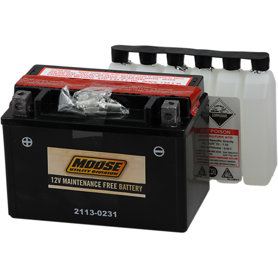 Moose Racing AGM Battery - YTX9-BS