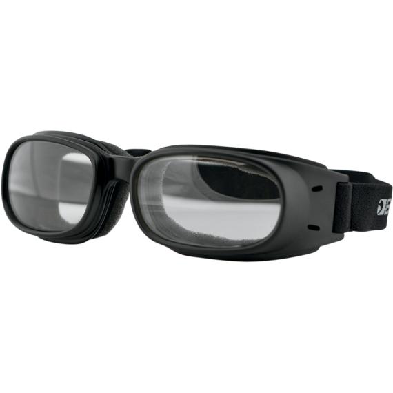 Bobster Piston Goggles - Matte Black - Clear