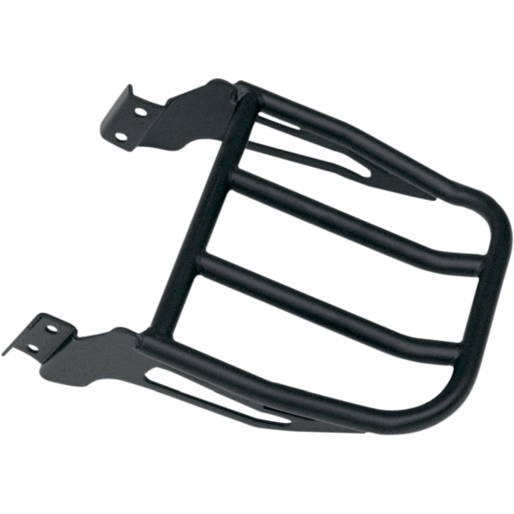 Motherwell 2-Up Backrest Luggage Rack - Matte Black