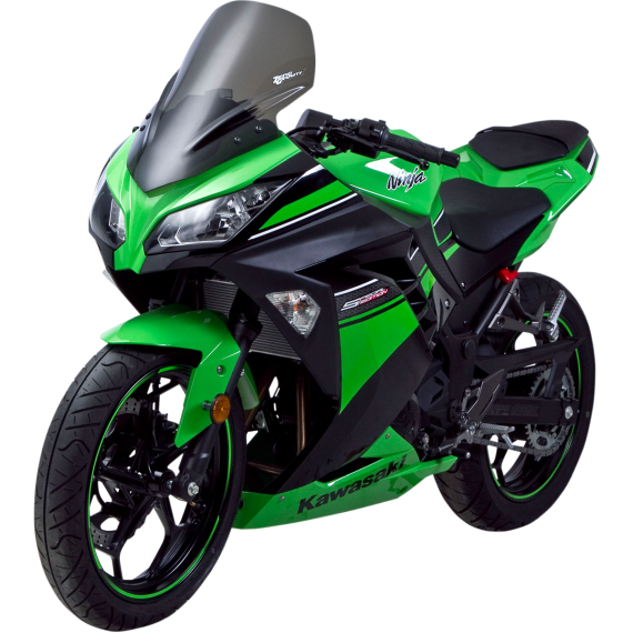 Zero Gravity Sport Winsdscreen - Smoke - Ninja 300