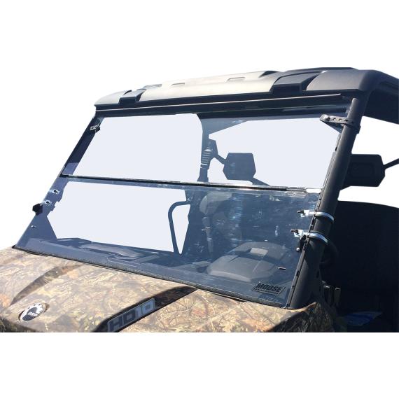 Moose Racing Full Folding Windshield - Defender