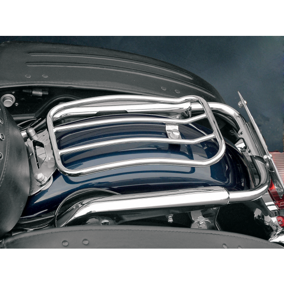 Motherwell Luggage Rack - Chrome - Touring