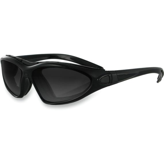 Bobster Road master Convertible Sunglasses - Gloss Black