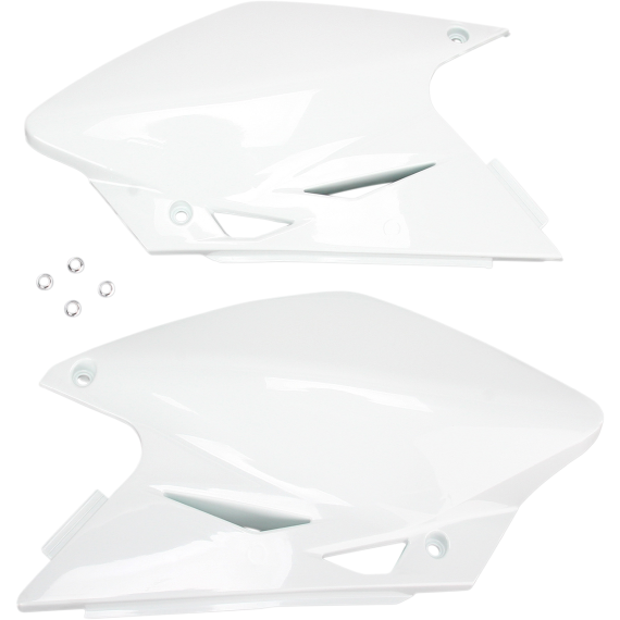 Acerbis Side Panels - 06 KX450F - White