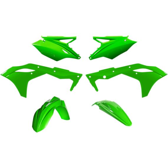 Acerbis Plastic Body Kit - Fluorescent Green - KX250F