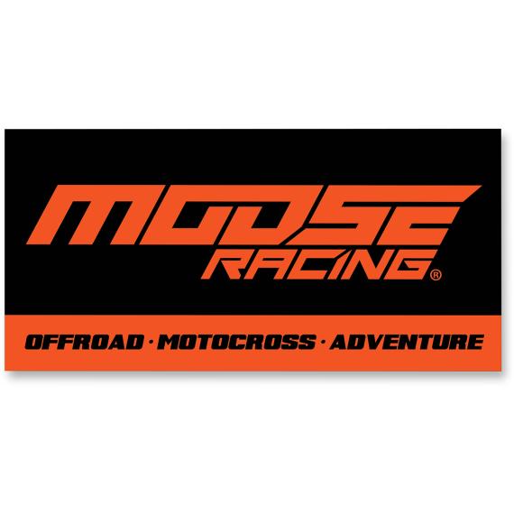 Moose Racing Shop Banner - 4'