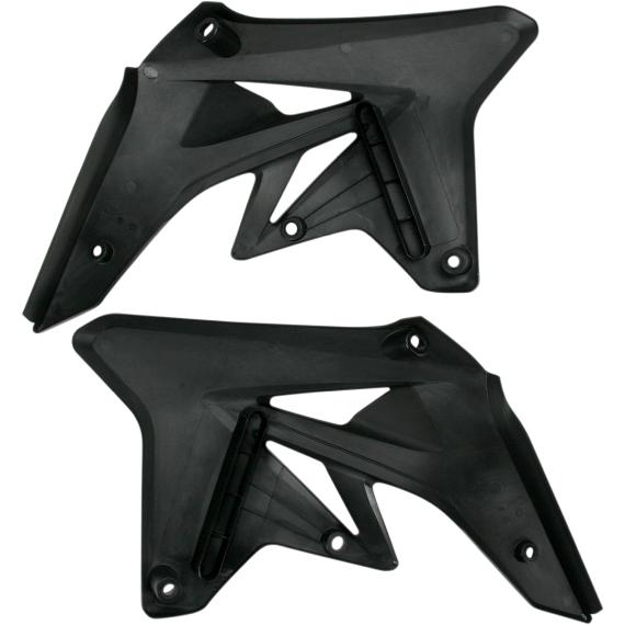 Acerbis Radiator Shrouds - RMZ 250 - Black