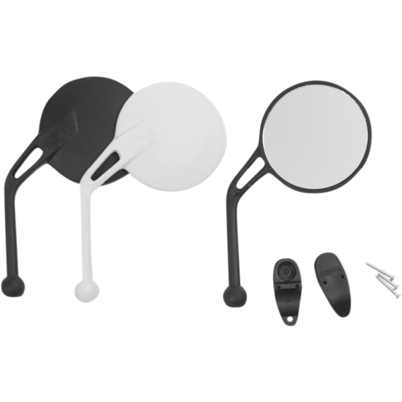 Acerbis Rear View Mirror - Black - Left