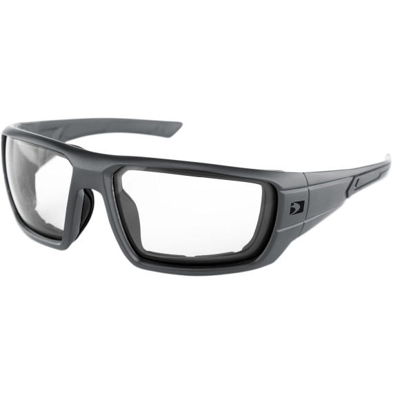 Bobster Mission Sunglasses - Matte Gunmetal - Clear