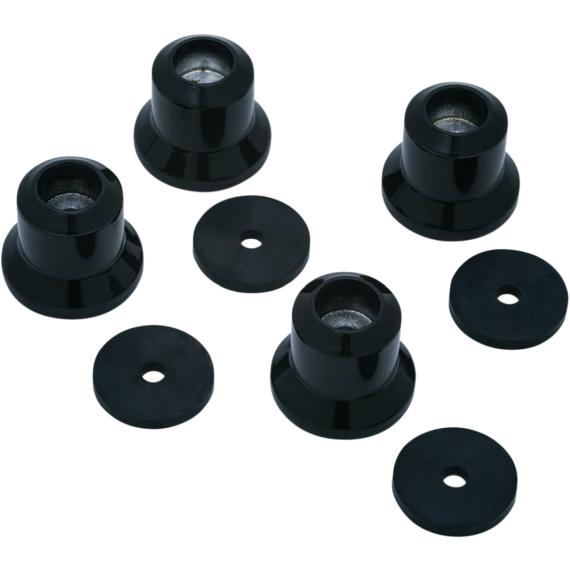 Kuryakyn Luggage Rack Riser - Black - GL1800