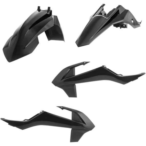 Acerbis Plastic Body Kit - Black - SX65