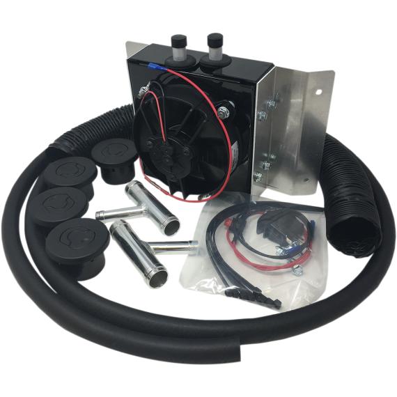 Moose Racing Cab Heater - RZR XP Turbo