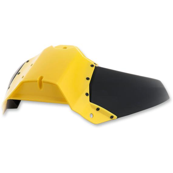 Acerbis Radiator Shrouds - Upper - YZF - Yellow/Black