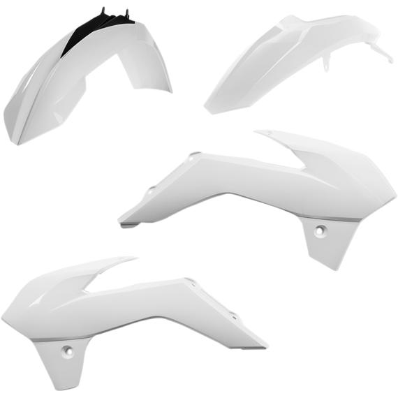 Acerbis Plastic Body Kit - White/Black - SX85