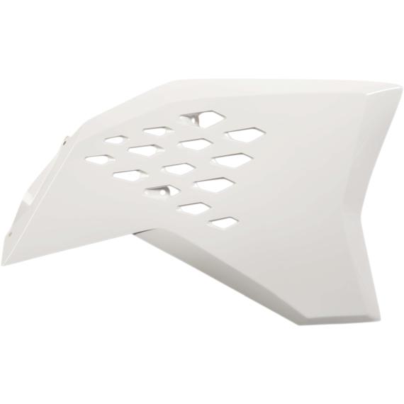 Acerbis Radiator Shrouds - KTM - White
