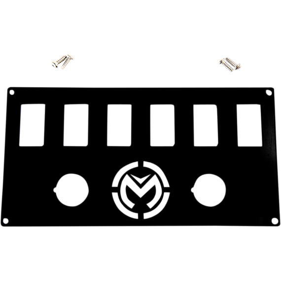 Moose Racing Dash Plate - Black - Pioneer 1000