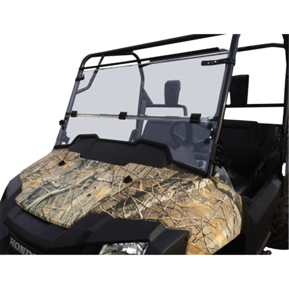 Moose Racing Full Folding Windshield - Wolverine