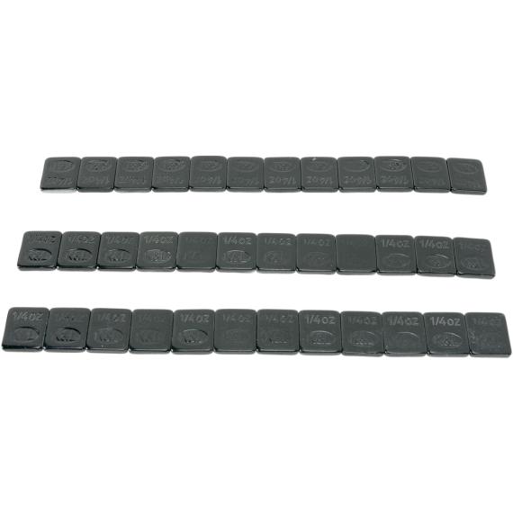 K and L Supply Steel Stick-On Black 36