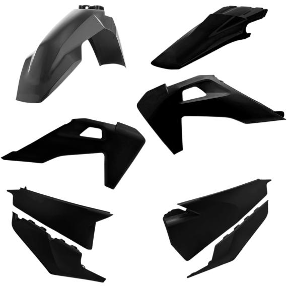 Acerbis Standard Replacement Body Kit - Black