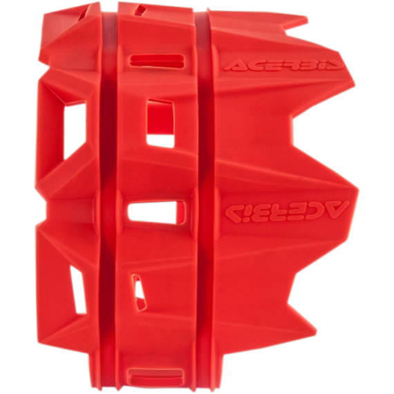 Acerbis Silencer Guard - Red