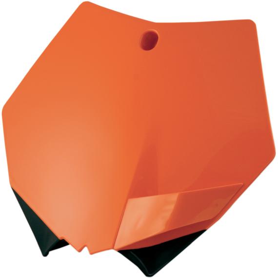 Acerbis Number Plate - KTM SX - Orange