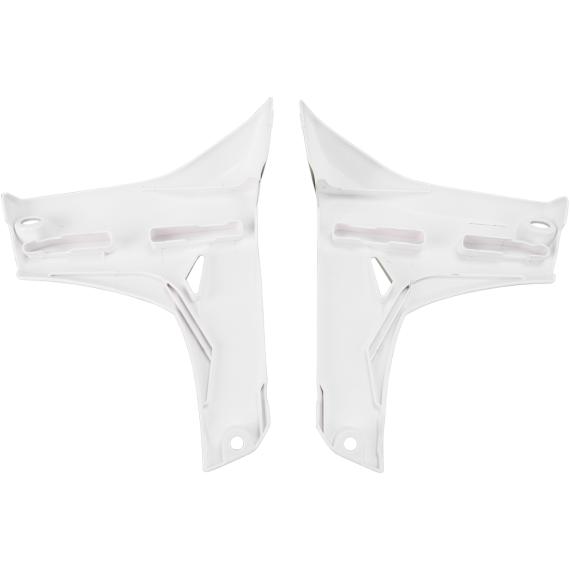 Acerbis Radiator Shrouds - Lower - YZ 450F - White